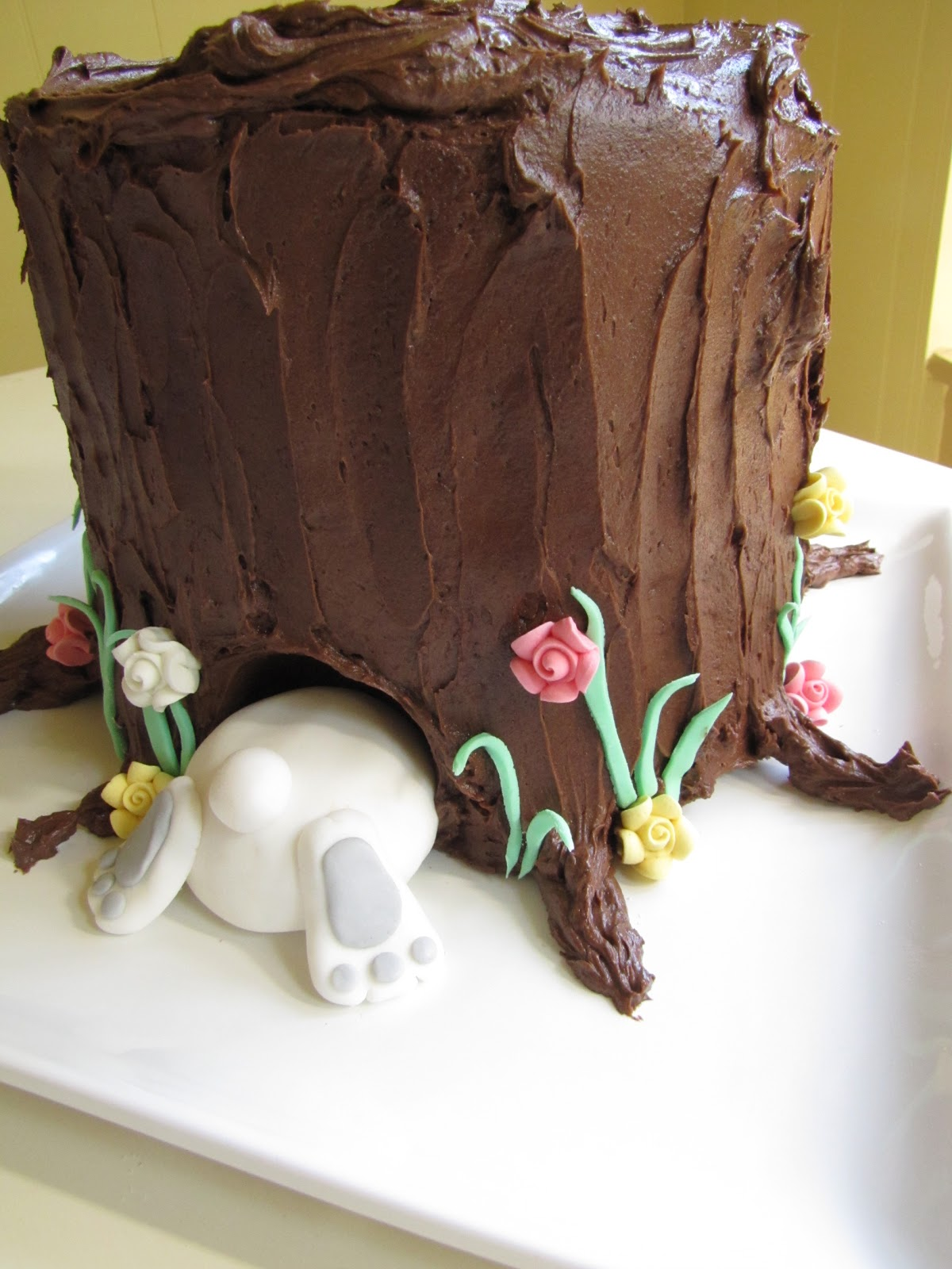 Chocolate Rabbit Cake