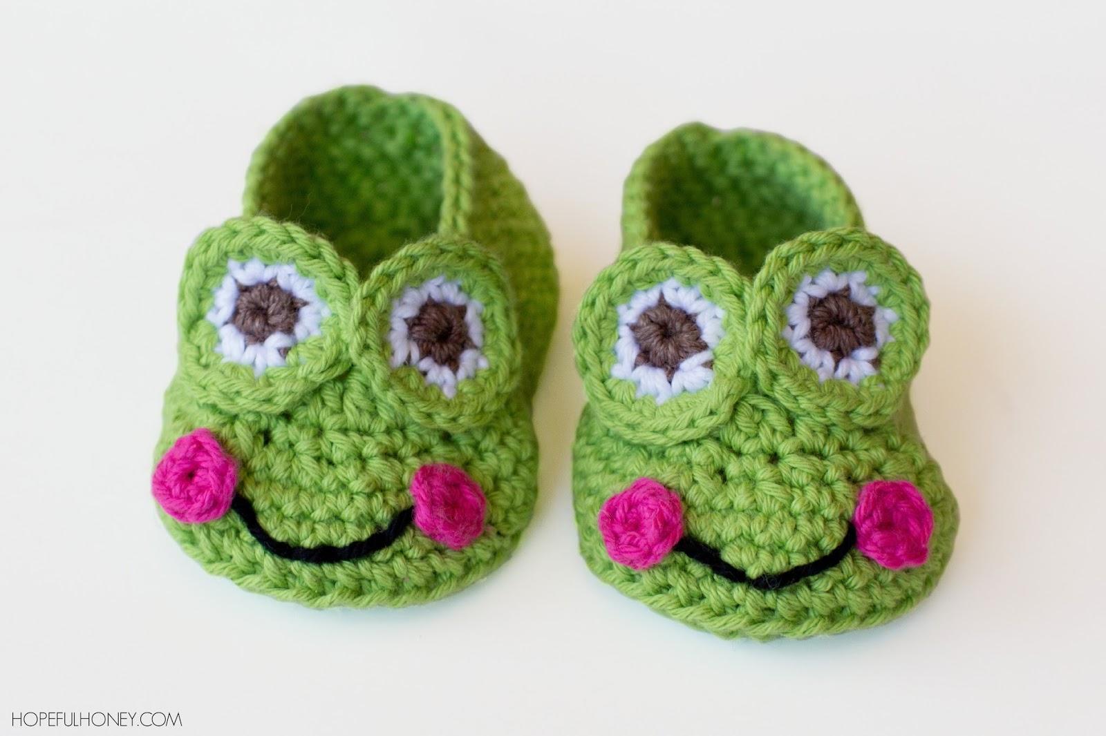 Homemade Hello Kitty Crochet Slippers