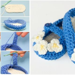 Vintage Mary Jane Baby Booties – Free Pattern and Guide
