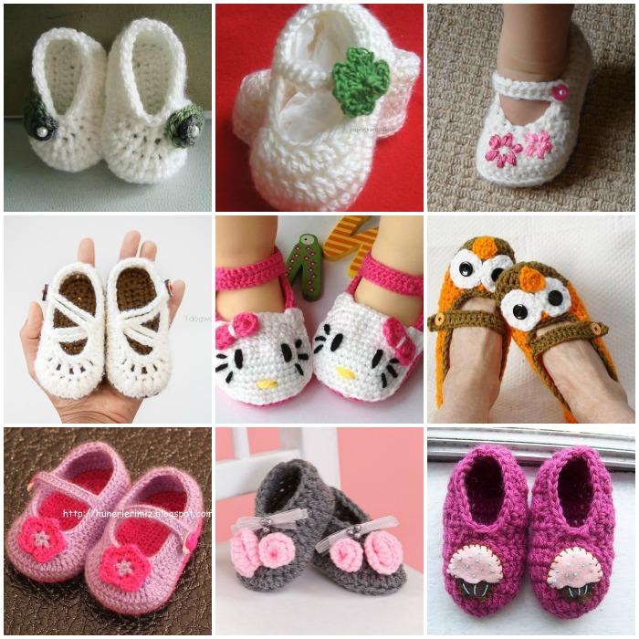 crochet slippers free pattern- wonderfuldiy f