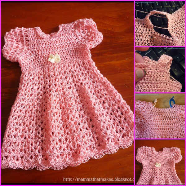 dress free crochet pattern -wonderfuldiy