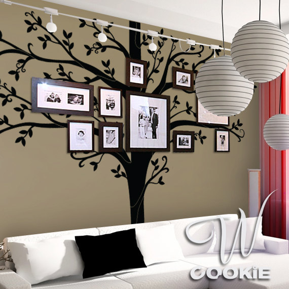 VIEW IN GALLERY Family Tree Wall Art Wonderfuldiy11