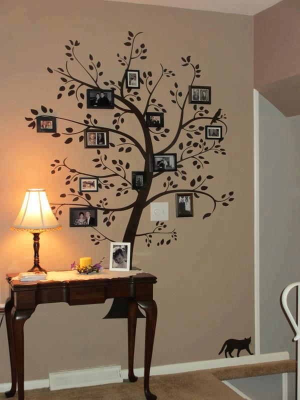 View In Gallery Family Tree Wall Art Wonderfuldiy4