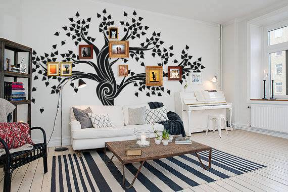 VIEW IN GALLERY Family Tree Wall Art Wonderfuldiy5
