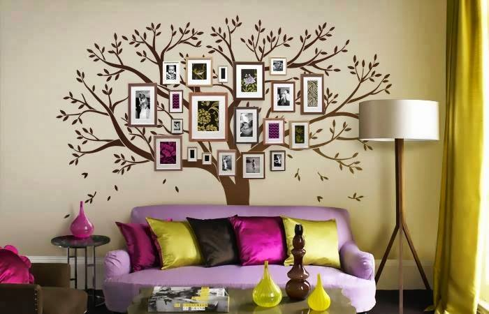 family-tree-wall art wonderfuldiy7