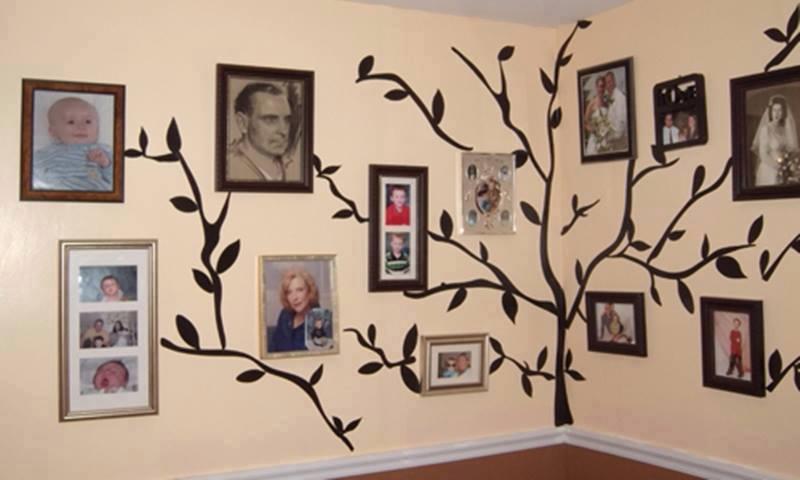 family-tree-wall art wonderfuldiy8