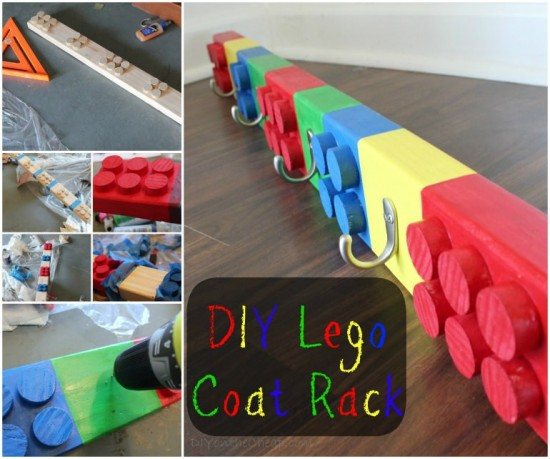 lego coat rack wonderfuldiy1 How to Make a Fabulous DIY LEGO Room