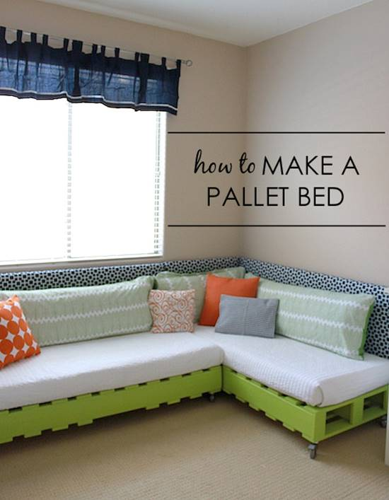 View In Gallery Pallet Bed