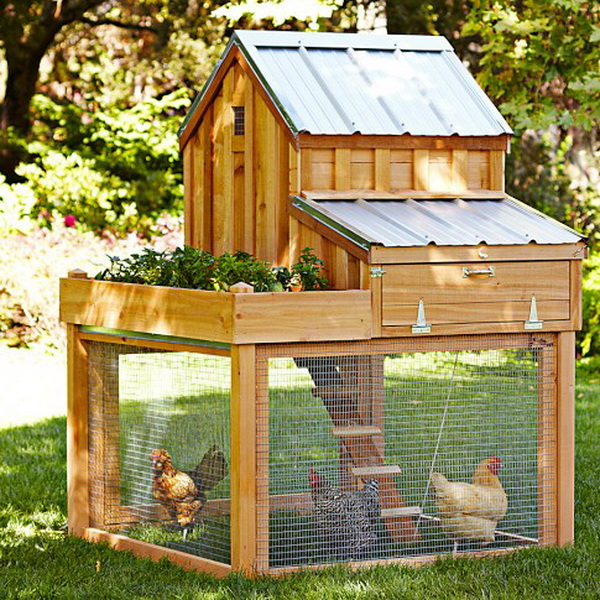 Wonderful Diy Recycled Chicken Coops: 50 Wonderful Pallet Furniture Ideas And Tutorials