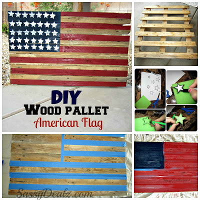 pallet flag-wonderfuldiy