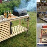 Wonderful DIY Perfect Portable Outdoor Kitchen