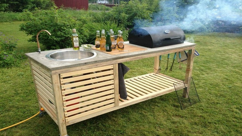 perfect-barbeque- Portable Outdoor Kitchen-wonderfuldiy2