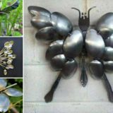 Wonderful DIY Spoon Butterfly