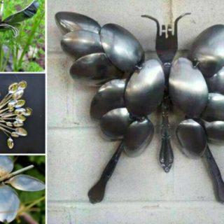 Wonderful DIY Spoon Butterfly