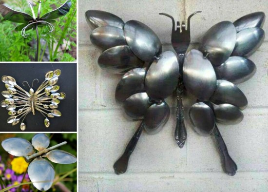 spoon Butterfly wonderfuldiy Wonderful DIY Spoon Butterfly