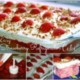 Wonderful DIY Strawberry Fridge Cake