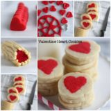 Wonderful DIY Slice 'n' Bake Valentine Heart Cookies