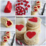 Wonderful DIY Slice 'n' Bake Valentine Heart Cookies