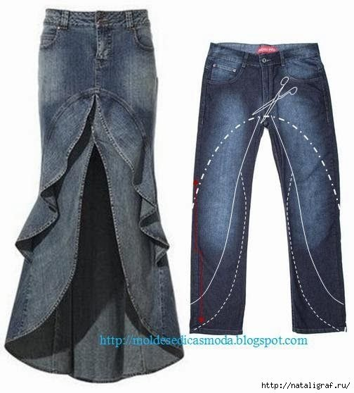 how to make hot pants from old jeans