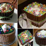 Wonderful DIY Easter Bunny Butt Cakes