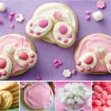 Wonderful DIY Easter Bunny Butt Cookies
