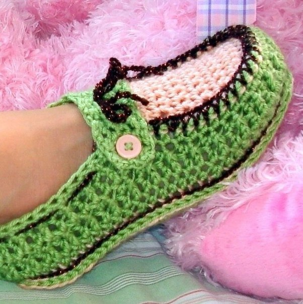 Crochet-Adult-Button-Loafers-7