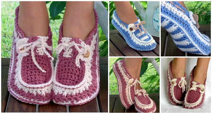Crochet-Adult-Button-Loafers