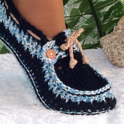Wonderful Diy Crochet Boat Slippers With Free Pattern