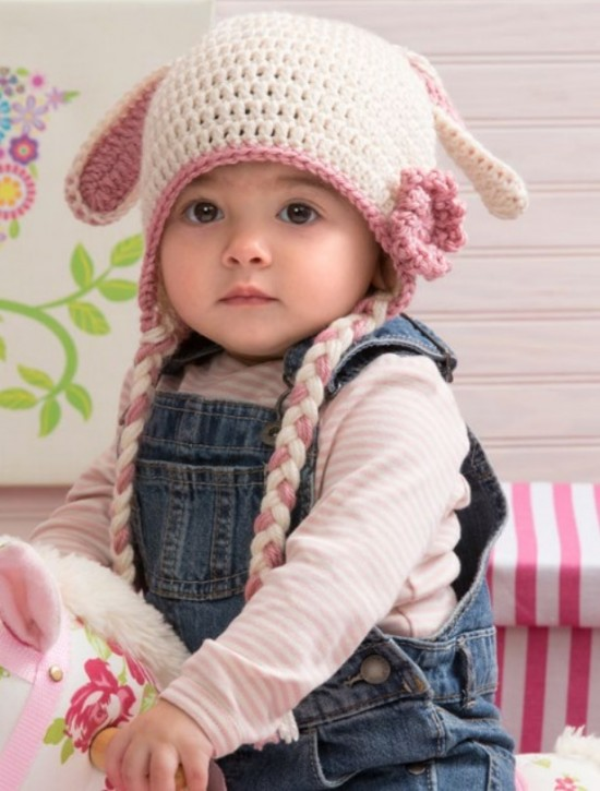 8 Wonderful Free Patterns for Crochet Floppy Bunny hats