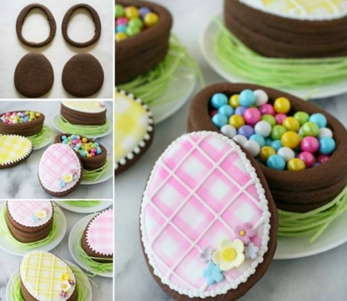 Easter Egg Cookie Boxes-wonderfuldiy