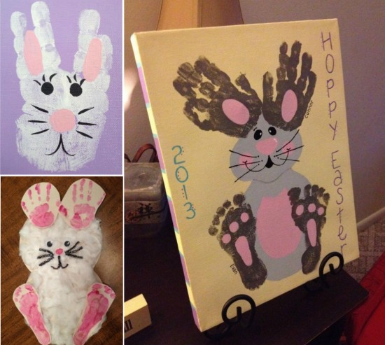 Wonderful Diy Easy And Cute Easter Hand Amp Foot Print Art