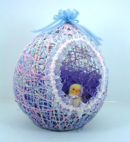 Easter String Egg-wonderfuldiy10