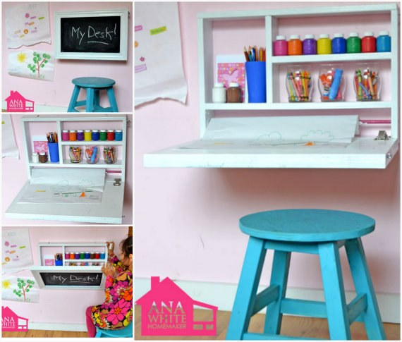 Flip-Down-Wall-Art-Desk-wonderfuldiy