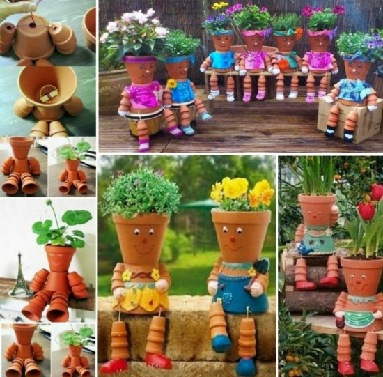 Flower-clay Pot-People-wonderfuldiy1
