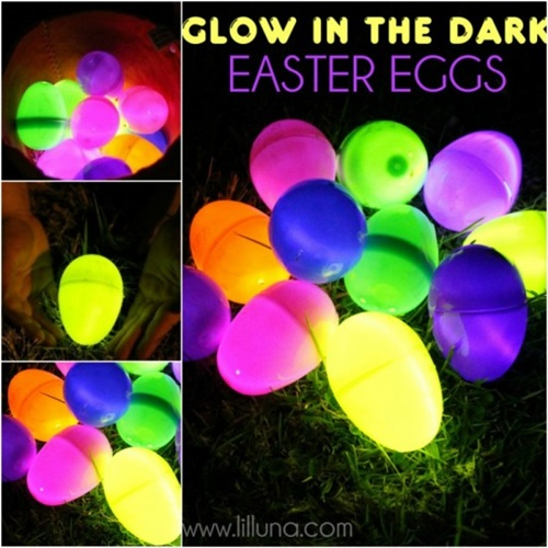 Glow In The Dark Easter Eggs-wonderfuldiy