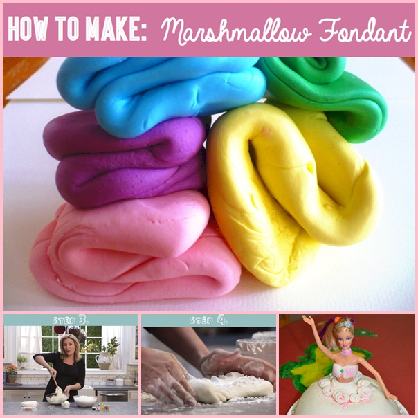 Marshmallow Fondant Recipe wonderfuldiy f Wonderful DIY Easy Marshmallow Fondant