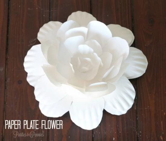 Wonderful Diy Paper Plate Flower