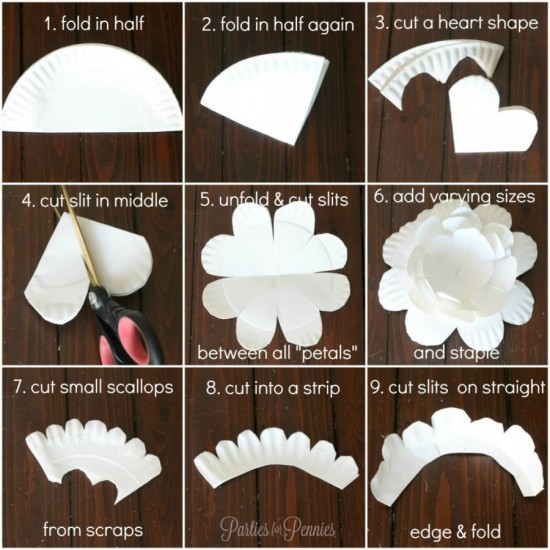 Wonderful Diy Paper Plate Flower
