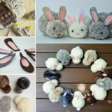 Adorable DIY Pom Poms: Make Finger Yarn Bunnies
