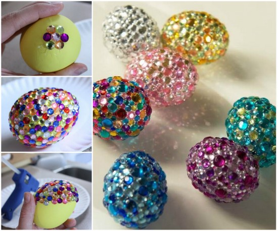 Rhinestone-Eggs-wonderfuldiy