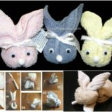 Wonderful DIY Cute Towel Bunny