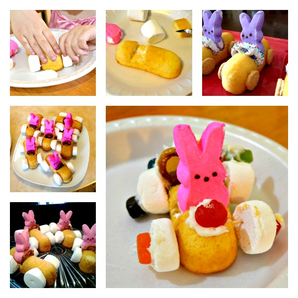 easter bunny race cars wonderfuldiy f Wonderful DIY Easter Bunny Peeps Race Cars