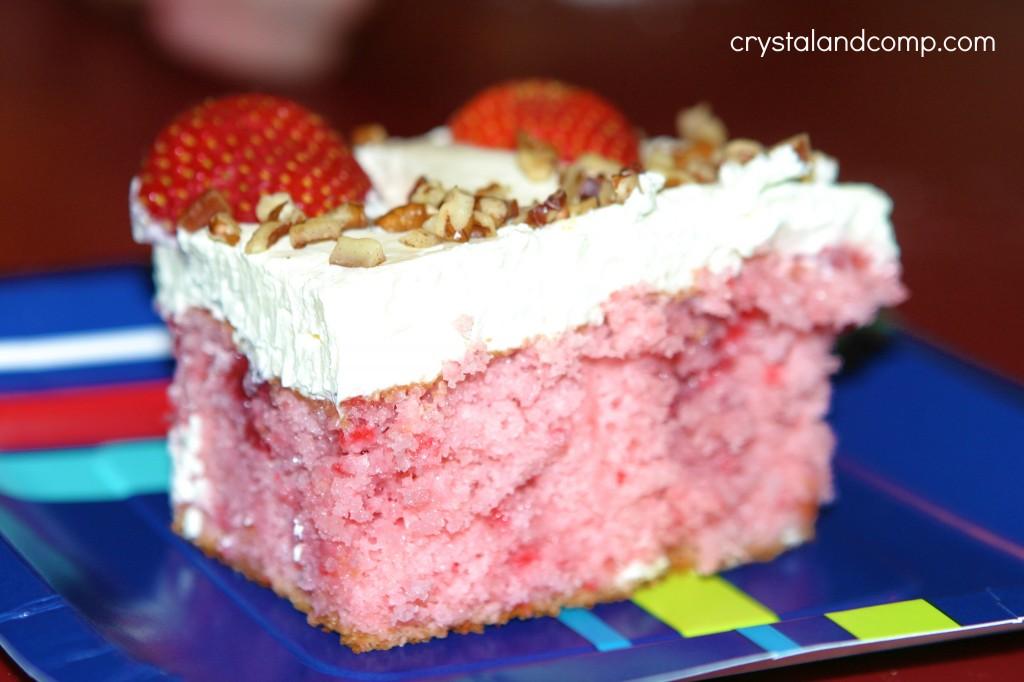 Wonderful Diy Strawberry Fridge Cake