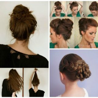 Wonderful 13 Simple Bun Hairstyles