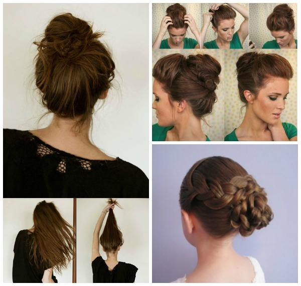 13 simple bun hairstyles wonderfuldiy Wonderful 13 Simple Bun Hairstyles