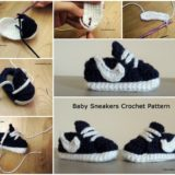 Homemade Nike Baby Sneakers – Free Patterns and Tutorial