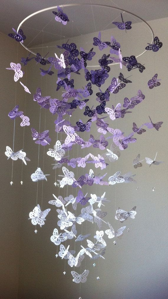 VIEW IN GALLERY Butterfly Chandelier Wonderful DIY