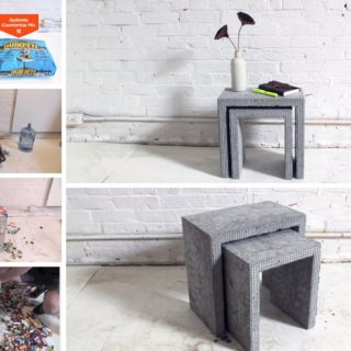 Using Lego Bricks to Create These Awesome DIY Concrete Nesting Tables!