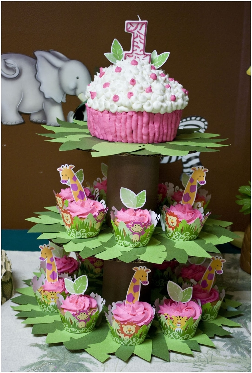 Wonderful DIY Unique Couture Cupcake Stand