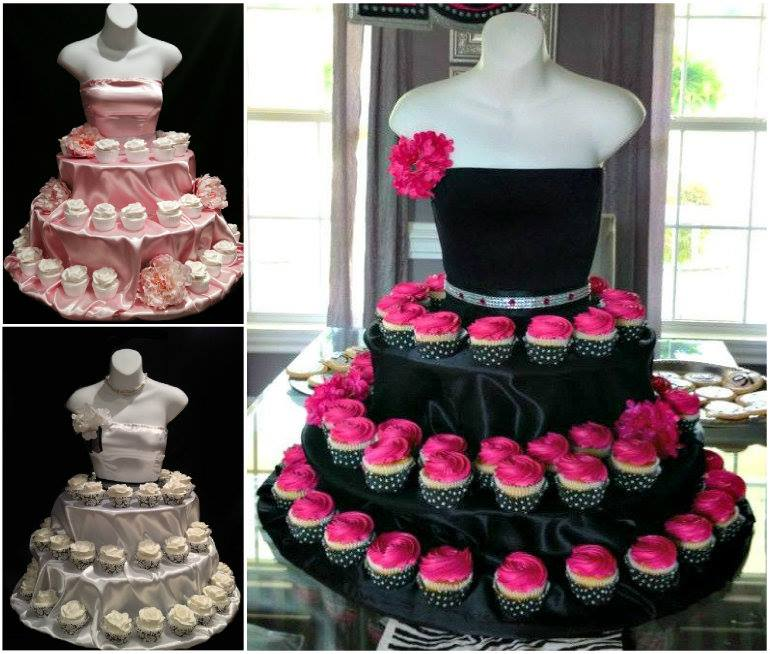 Wedding Cupcake Stand Ideas: Wonderful DIY Unique Couture Cupcake Stand